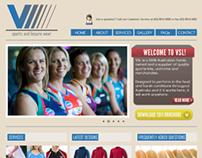 V Sportz and Leisure Wear Website