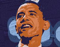 Barak Obama Illustration
