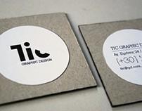 Tic - Branding & Stationery Design