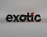 Exotic 3D Logo