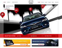 Honda navigation maps webstore