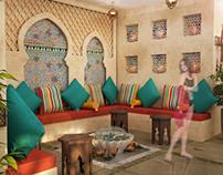 Indoor pool for a Hotel (Dubai-UAE)