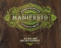 Presto Manifesto!