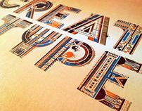 Creative Type - Illustrative typography