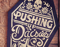 Pushing Up Daisies - Block Print
