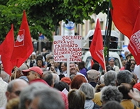Photo report: Worker's Day Manifestation, 1st of May
