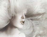 BEAUTY EDITORIAL for GOLD