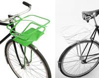 Pop-Up Bicycle Basket