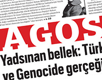 """AGOS"" Newspaper redesign project"