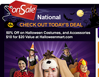 OnSale.com's Halloween Email