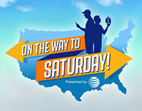 "AT&T ""On The Way To Saturday"" Logo and Motion Graphics."