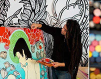 SprFkr Studio Visit Echo Park / HB Super / Juxtapoz
