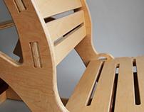 Antigravity Chair:  flat pack yoga chair