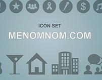 Menomnom.com Icons