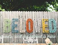 Custom Wedding Wall