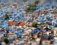 Imposible model of Jodhpur