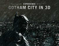 Experience Gotham City in 3D