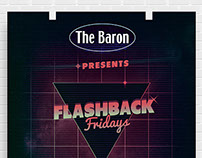 The Baron Flashback Fridays Poster