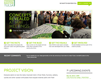 Gathering Place For Tulsa Website