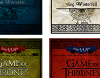 """""""Game of thrones"""" cover design competition"""