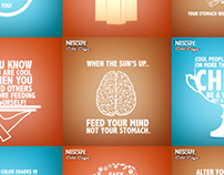 Nescafe - Ways to stay cool