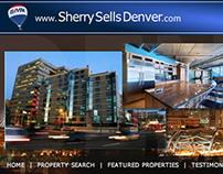 Sherry Sells Denver Real Estate Website