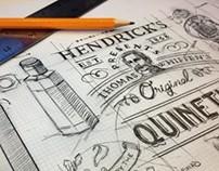 Hendrick's Gin - Merchandising & Direct marketing