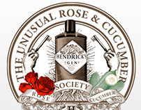 Hendrick's - The Unusual Rose & Cucumber Society Party