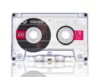 "Maxell _cassette_ ""Classics never die"""