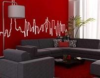 Hotel Room Design(Dubai-UAE)