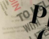 Well-chosen words deserve well-chosen letters