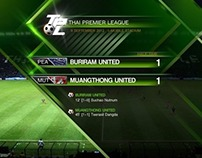 THAILAND PREMIERE LEAGUE BROADCAST GRAPHIC
