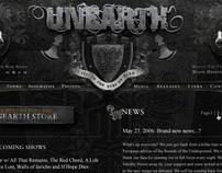 Unearth Website