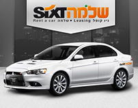 Sixt  car rent creative concept