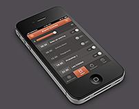 iPhone Alarm Clocks App Design