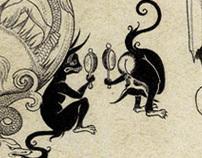 Weird and Wonderful: fairy-tale illustrations