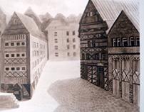 Дома и воздух ( Air and houses)