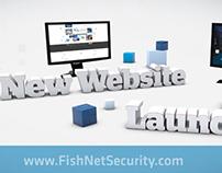 Website Announcement Screen