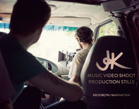 JK Music Video Production Stills
