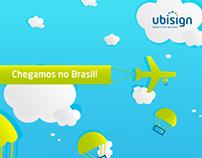 """We arrived in Brazil!"""