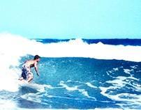 Surf session in San Sebastian
