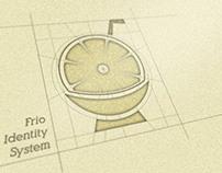 Frio Smoothies Startup Branding