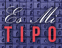 Redesign of Es Mi Tipo book cover