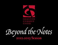 Houston Chamber Choir 2012-2013 Season