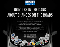 Navteq Maps cold leads campaign