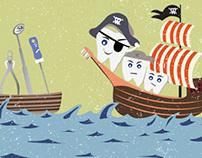 Cover illustrations for NSW Dentist Magazine