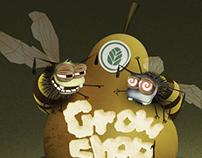Illustration for growshop