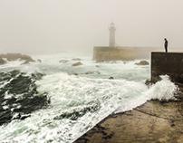 when fog reaches lighthouse