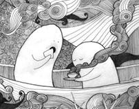 illustration for tiny humans