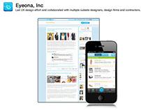 Eyeona - Web and Mobile UX Design